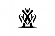 Dark Warrior Logo