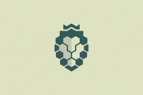 Polygonal Lion Logo