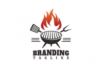 Grill Fire Logo