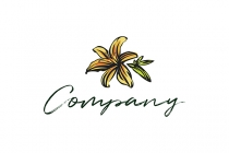 Lilly Flower Logo