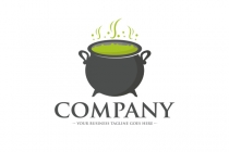 Witch Cauldron Logo