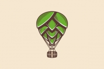 Hop Air Balloon Logo
