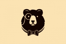 Gentleman Bear Logo