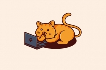 Geek Cat Logo