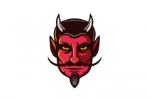 Devil Face Logo