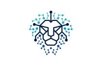 Lion Head Tech Logo