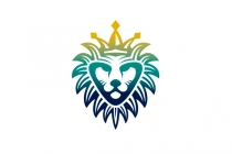 Lion King Head Logo
