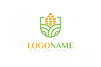 Corn Farm Logo