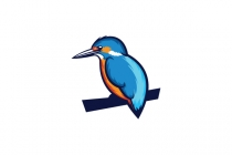 Bird Kingfisher Logo