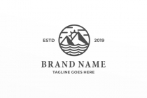Simple Outdoor Logo
