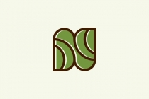 N Nature Leaf Logo