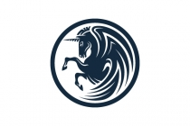 Winged Unicorn Logo