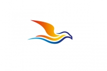 Sunset Seagull Logo