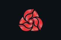 Abstract Flower Logo