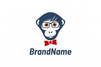 Cool Nerd Monkey Logo