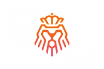 Lion Head Mark Logo