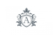 Letter A Royal Logo