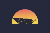 Sailing Feather Logo