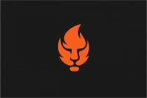Lion Fire Logo