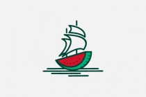 Water Melon Ship Logo