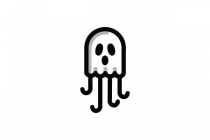 Ghost Jellyfish Logo