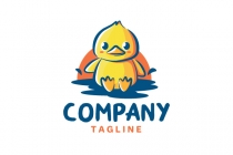 Cute Duck Logo