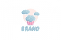 Cloud Cupcake Logo