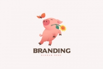Playful Pig Logo