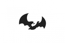 Bat Negative Space...