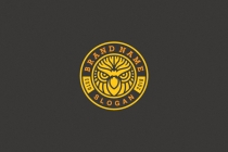 Retro Owl Badge Logo