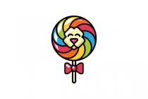 Lion Lollipop Logo