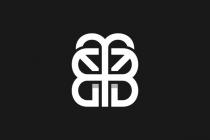 Butterfly bb logo for Bb logo