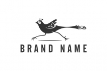 Running Bird Logo