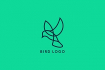 Bird Logo line art...