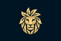 Lion Gold Leaf Logo