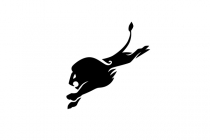 Hunting Lion Logo