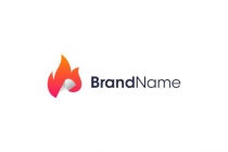 Burning Document Logo