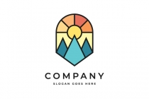 Colored Mountain Logo