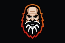 Bearded Man Logo