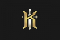 Knight Sword Logo