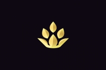 Golden Lotus Crown...