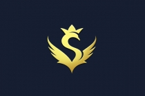 Crown Swan S Logo