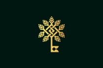 Golden Tree Key Logo