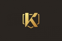 Golden Shield K Logo