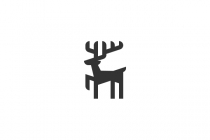 Geometric Deer Logo