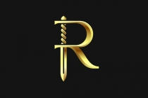 Golden Blade R Logo