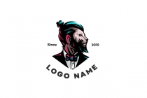 Cool Barber Logo