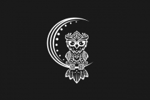 Owl Tribal Logo