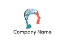 Psychology Brain Logo
