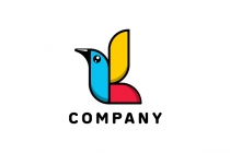 Colorful Bird Logo